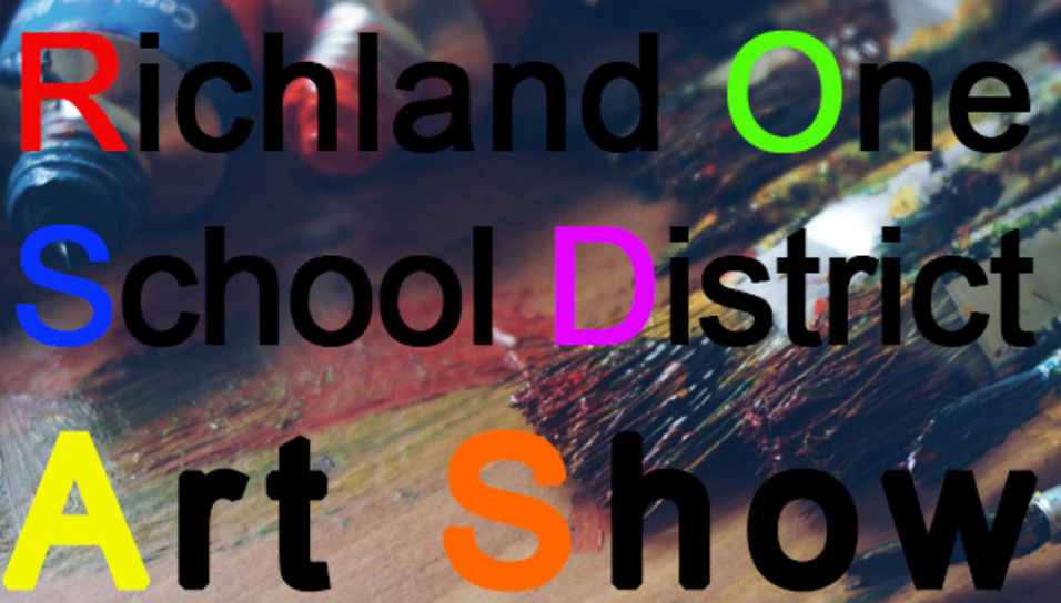 Richland one school district art show presented by tapp s for Columbia craft show 2017