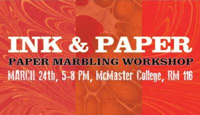 Ink & Paper Marbling Workshop