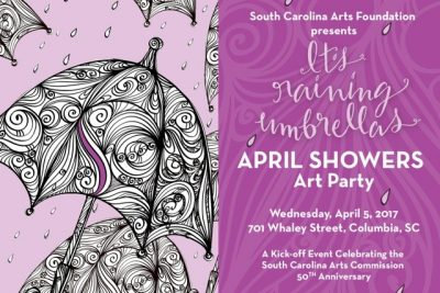 April Showers Art Party