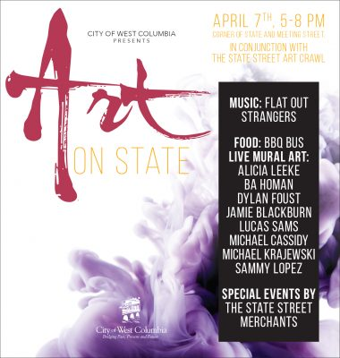 Art on State- A Celebration of Art Month