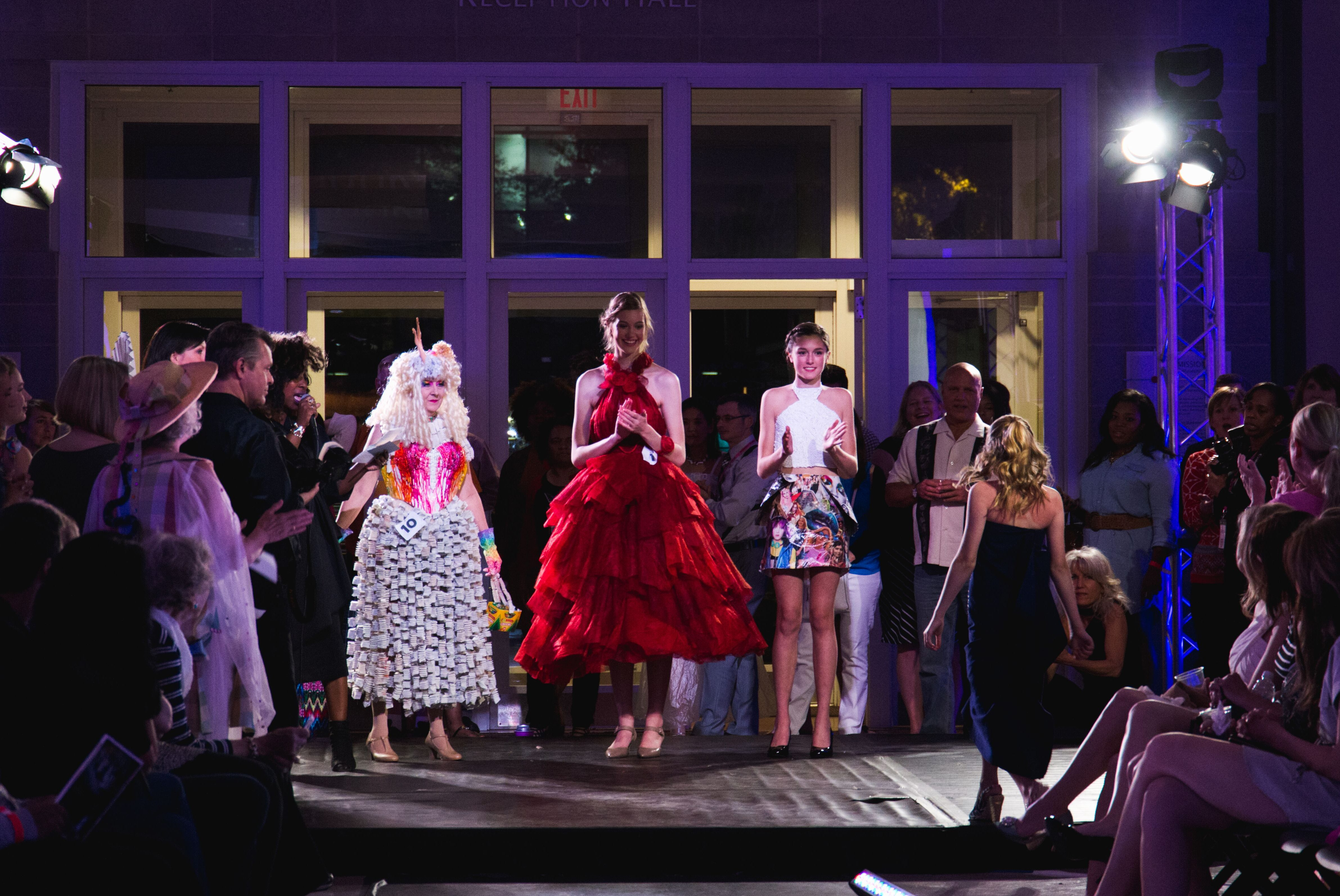 Cdl presents runaway runway a recycled fashion show for Craft show columbia sc
