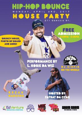 EdVenture: Hip-Hop Bounce House Party
