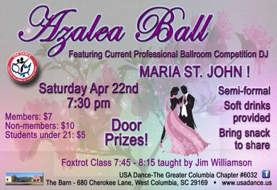 Columbia USADance Azalea Ball
