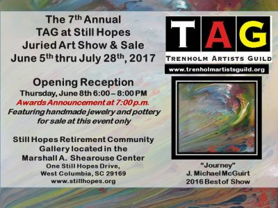 TAG at Still Hopes Reception and Awards Ceremony