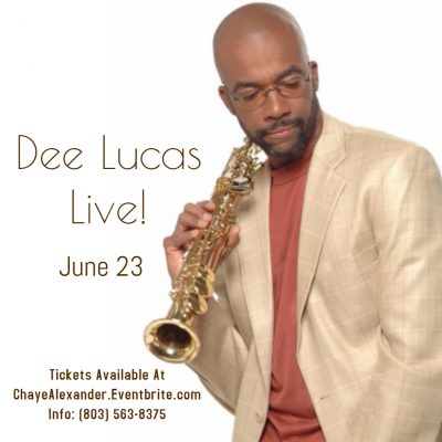 An Intimate Evening with Saxophonist Dee Lucas