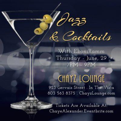 Jazz & Cocktails with EboniRamm