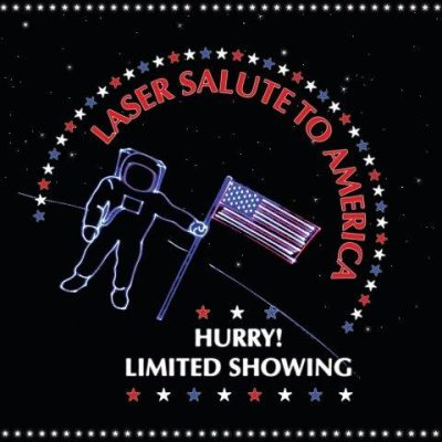 Laser Salute to America