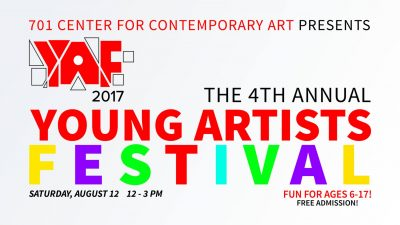4th Annual Young Artists Festival at 701 CCA