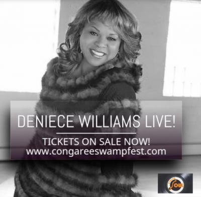 BBQ Blues & Jazz Fest w/ Deniece Williams Live [Congaree SwampFest]