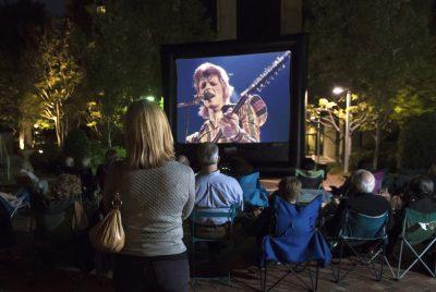 Ziggy Stardust on Boyd Plaza