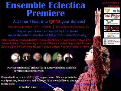 Ensemble Eclectica Premiere!