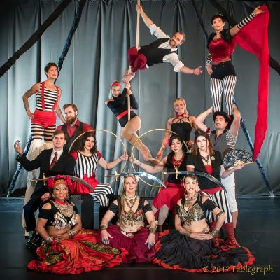 Soda City Cirque's Paper Moon Variety Show III