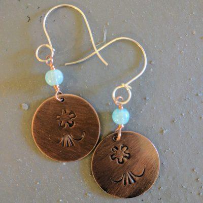 Workshop - Stamped Copper Earrings