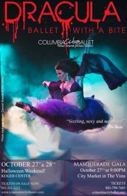 Columbia City Ballet presents Dracula: Ballet With a Bite