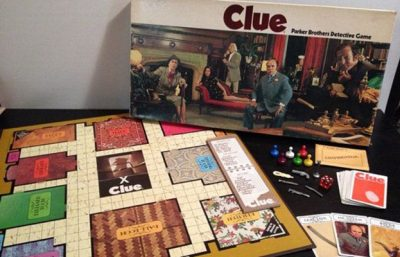 MBG's Clue Halloween Party