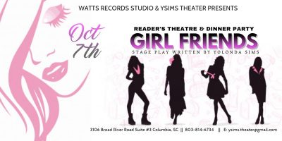 Girl Friends Reader's Theatre & Dinner Party