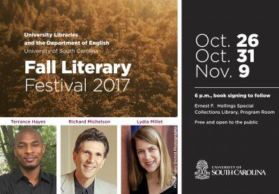 USC Fall Literary Festival: Terrance Hayes