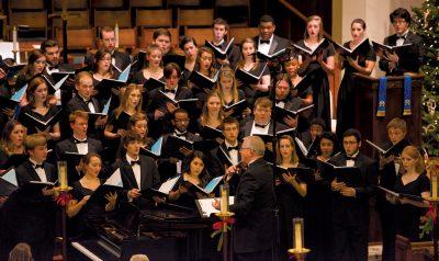 USC Concert Choir Christmas Concert