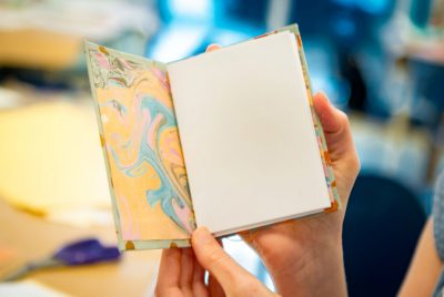 Bookbinding and Marbling Workshop
