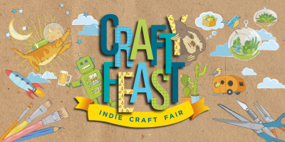 Crafty feast juried indie craft fair in columbia s c for Columbia craft show 2017