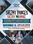 Homeless Helping Homeless presents Silent Voices: Silent No More