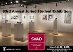 63rd Annual Juried Student Exhibition