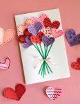 Valentine Day Paper Art Class