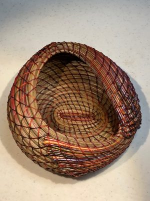 Introductory Pine Needle Basketry Class - A Contem...