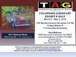 TAG 37th Spring Juried Exhibit and Sale