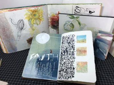 Artist Retreat and Art Journal Making Workshop