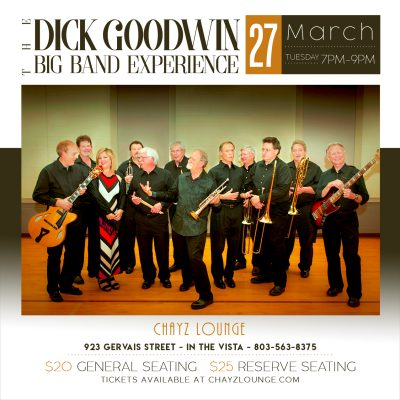 Dick Goodwin Big Band at Chayz Lounge