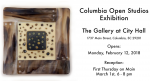 Columbia Open Studios Exhibition @ Columbia City Hall