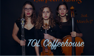 Harpeth Rising Performing March 17th at TOL Coffeehouse