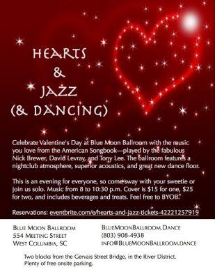 Hearts & Jazz (& dancing)