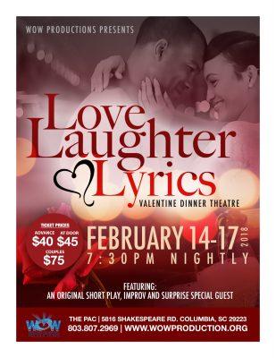 Love, Laughter and Lyrics: Valentine's Dinner Improv Theatre