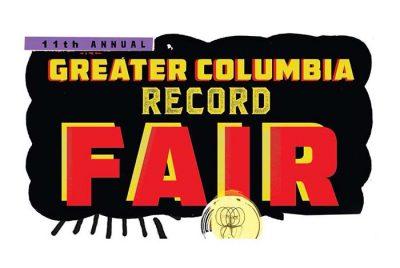 11th Annual Greater Columbia Record Fair