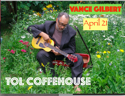 Vance Gilbert at TOL Coffeehouse