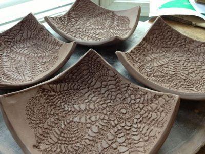 Intermediate Hand Building Pottery