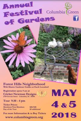 Columbia Green 2018 Festival of Gardens