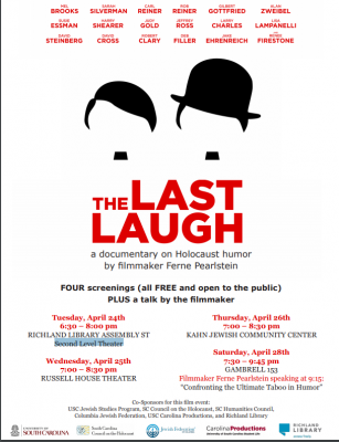 "Film Screening: ""The Last Laugh"