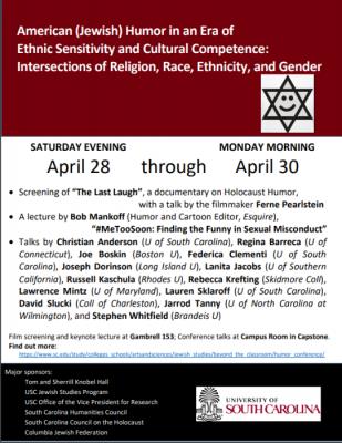 American (Jewish) Humor Conference: Talks, Day 2