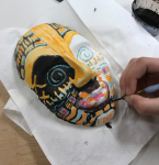 701 CCA Summer Camp: Multicultural Masks and Aztec Relief Carving