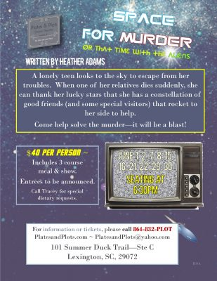Space for Murder, or That Time with the Aliens