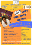 Tapp Into the Arts Camp