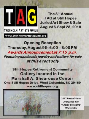 8th Annual Still Hopes Juried Art Exhibit