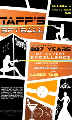 Tapp's Arts Center SpyBall