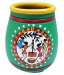 Warli Painting on Pots - Instruction by Jugnu Verma