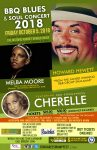 Howard Hewett with guests Melba Moore & Cherelle BBQ Blues & Soul Concert 2018