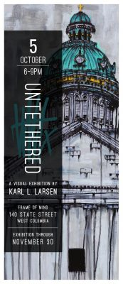 'Untethered' - a visual exhibition by Karl L. Lars...