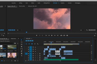 Intro to Premiere Pro